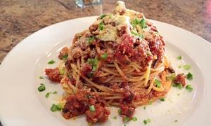 Melrose: Repas italien trois services pour deux ou quatre personnes chez Melrose Restaurant-Bar (jusqu'à 54 % de rabais)