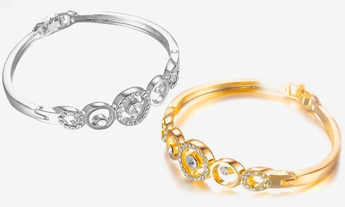 Bracelet Eclipse de la marque Victorias Candy orn de cristaux à 590€ (89% de rduction)
