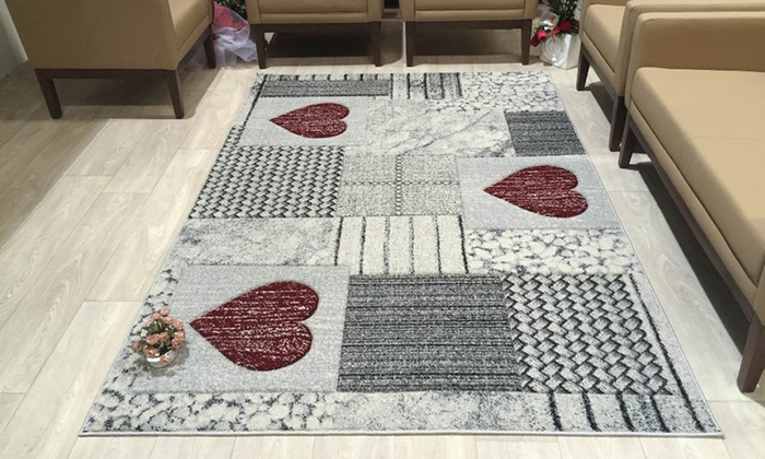 Trendy groupon goods global gmbh tappeto moderno disponibile in varie misure e modelli da with - Tris tappeti camera da letto ...