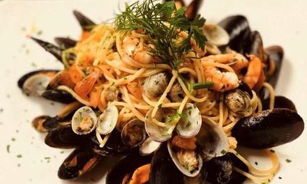 ?  Menu di pesce tipico veneziano di 3/4 portate a due passi dal ponte di Rialto all'Osteria Barababao, Prenota&Vai!