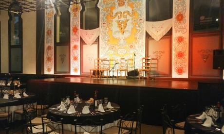 Cena o copa con espectáculo flamenco para hasta 6 personas desde 39,95 € en El Tablao La Pacheca, Plaza de la Ventas