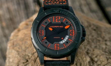 299 zł: zegarki męskie Morphic – 6 wariantów kolorystycznych
