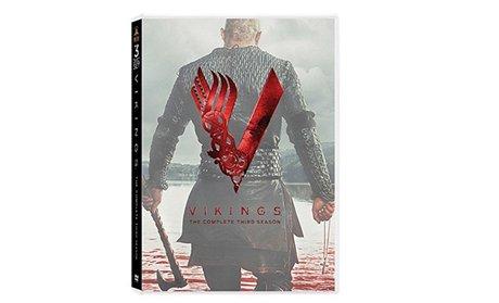 Vikings: Season 1, 2, 3, and 4 on DVD!