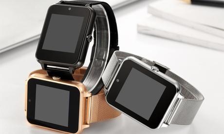 Smartwatch in acciaio inox