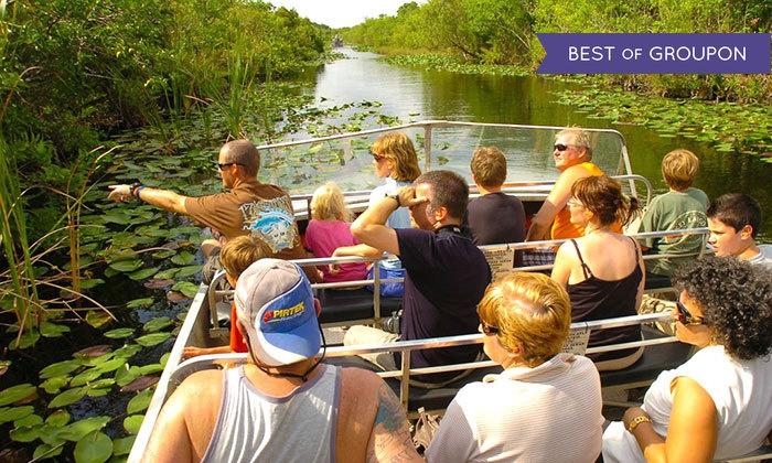 Everglades Safari Park - Everglades: Eco-Adventure Airboat Tour for One, Two, or Four at Everglades Safari Park (20% Off)