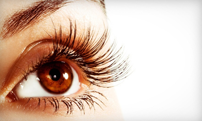 Melanie Lindsey at Picasso Salon - Evergreen: Full Set of Eyelash Extensions with Optional Fill from Melanie Lindsey at Picasso Salon (Up to 67% Off)