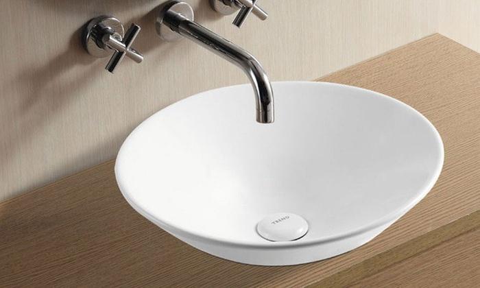 Exklusive Waschbecken exklusive design waschbecken groupon goods