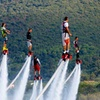 Flyboarding or Hoverboarding