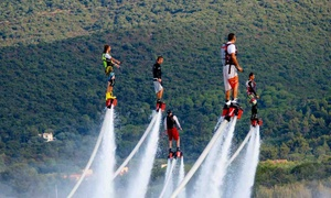 Flyboard Xtreme: Flyboarding or Hoverboarding Session for One or Two with Flyboard Xtreme (Up to 63% Off), 15 Locations