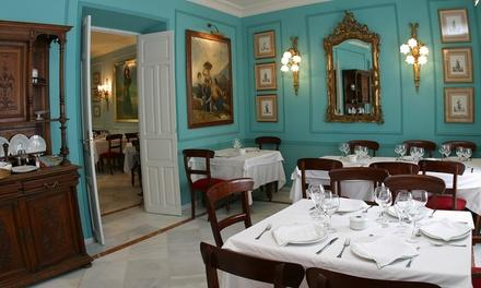 Menú degustación a elegir para 2 o 4 con 4 platos por cabeza, postre y botella de vino desde 46 € en Casa Manolo León
