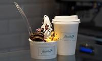 2x oder 4x Frozen Yogurt, 3 Toppings und 1 Sauce nach Wahl inkl. 1 Smoothie bei Frischling (bis zu 55% sparen*)