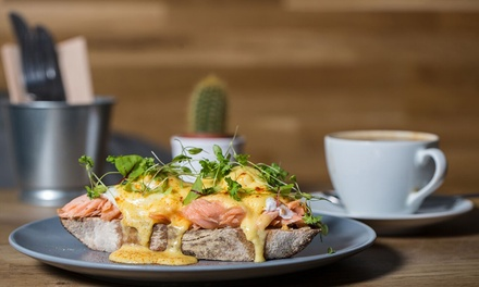 Brunch of Choice with Coffee or Cocktail for Two or Four at Hepworth's Deli and Kitchen