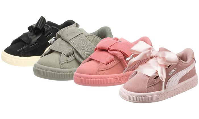 zapatos de niños puma