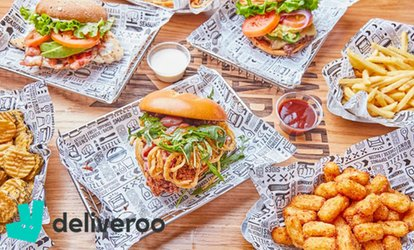 £1 for £5 to Spend on Deliveroo (Up to 100% Off)