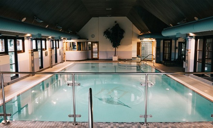 Lancashire: Classic Double or Luxury Studio for Two People with Leisure Access at 4* Lancaster House Hotel