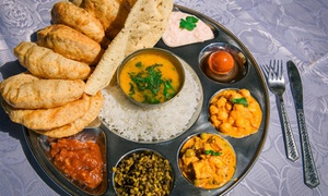 Govinda Restaurant: Vegetarian or Vegan Banquet for Two ($35), Four ($65) or Eight People ($125) at Govinda Restaurant (Up to $228 Value)