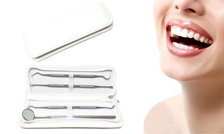 1, 2 ou 3 kits composés de 4 pièces, pour prendre soin des dents