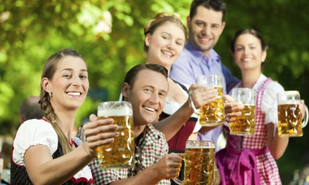 $20 for Admission, 0.5L Stein, and Fill for Two at Docktoberfest at Nebraska Brewing Company ($42 Value)