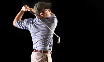 Indoor Driving Range and Simulator Golf at Max's Golf Centre (Up to 63% Off). Five Options Available.
