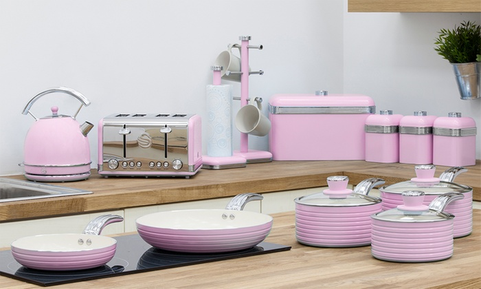 Up To 62 Off Swan 13 Piece Retro Kitchen Set Groupon