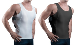 Concealment Clothes Men's Undercover Concealed Carry Holster Tank Top