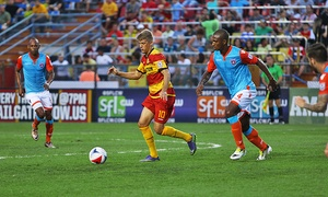 Fort Lauderdale Strikers: Fort Lauderdale Strikers Soccer Match for One or Two (April 30 or May 14)