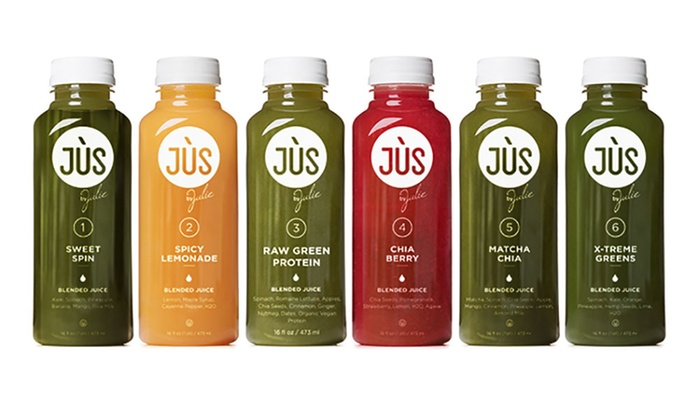 Juice Cleanses from Jus by Julie (Up to 41% Off)