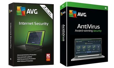 AVG Internet Security 2019 o AVG Anti Virus 2019 para 3 ordenadores por 2 años