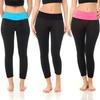 Coco Limon Seamless Capri Yoga Leggings (6-Pack)