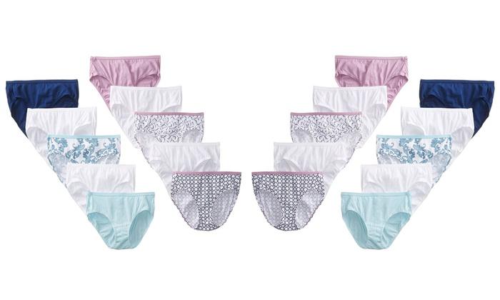 e96c6ff89482 Hanes Women's No Ride Up Cotton Hi-Cut Panties (20-Pack). Hanes Women's  Panties (20-Pack)