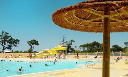 Landes: 7 nuits en bord de mer au camping 4* Les Oyats avec parc aquatique pour 6 personnes