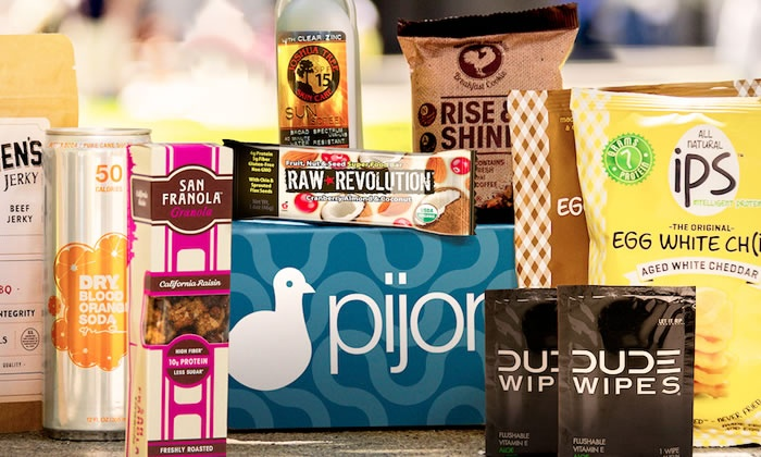 Pijon: One or Four Months of College Care Packages from Pijon (Up to 49% Off)