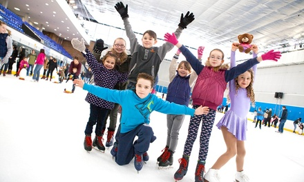 Ice Skating with Skate Hire For Two or Four at Billingham Forum Ice Arena