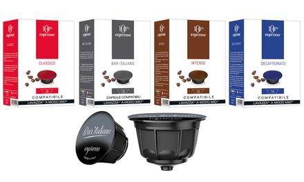 Capsule compatibili: 96 capsule compatibili Lavazza A Modo Mio / Bar italiano