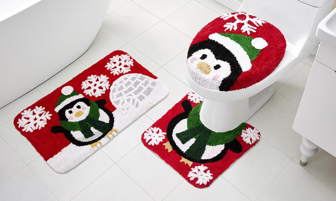 Holiday Bath Rug Set (3-Piece)
