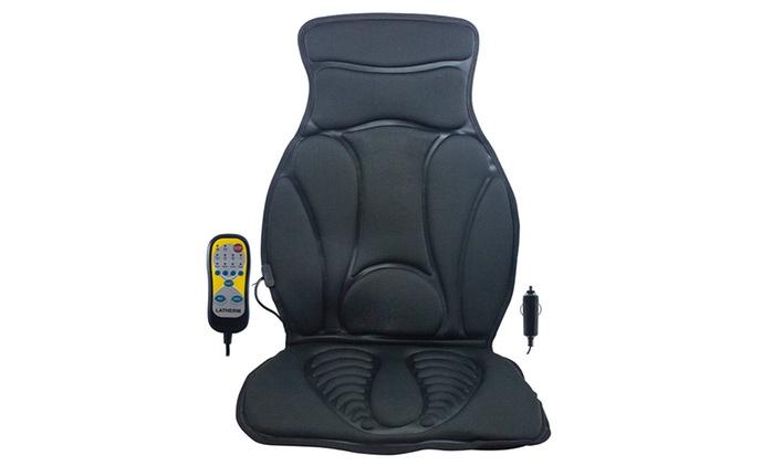Respaldo de masaje multiusos con calentador por 34,99 € (65% de descuento)