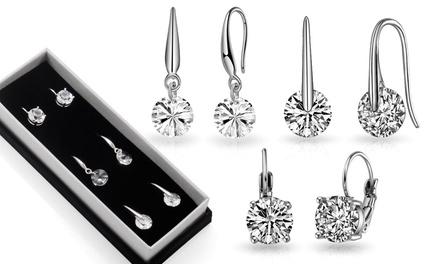 Philip Jones Round Drop Earrings