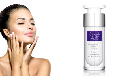 One, Two or Three 30ml Bottles of Beverly Hills Instant Facelift and Eye Tuck