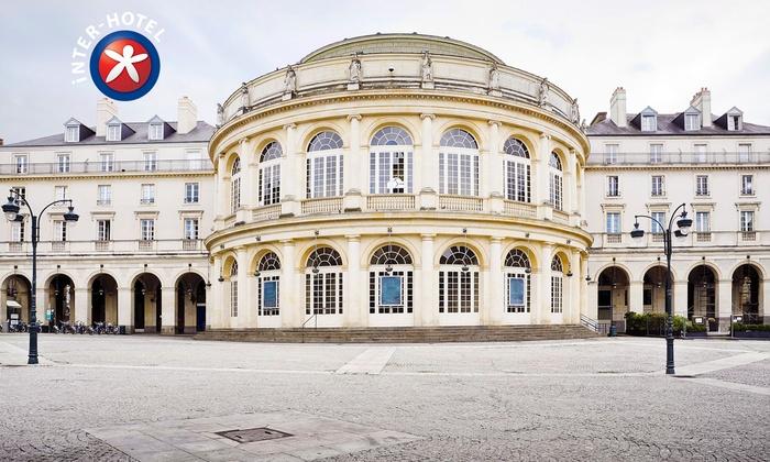 Inter-Hôtel Le Sévigné - Inter Hotel Le Sévigné Rennes Centre Gare: Rennes : 1 à 3 nuits à l'INTER-HOTEL Le Sévigné avec petits déjeuners en option dès 54 € pour 2