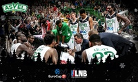 2 ou 4 places pour assister au match de basket de lASVEL vs MontpellierBourg-en-BresseTofas BursaNanterre dès 10 €