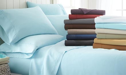 Microfiber Merit Linens Bed Sheets Sets (6-Piece) Was: $99.99 Now: $19.99