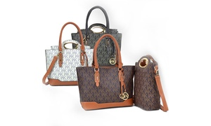 MMK Collection Milan Signature Handbag with Crossbody Tote Set at MMK Collection Milan Signature Set Handbag with Crossbody Tote, plus 6.0% Cash Back from Ebates.