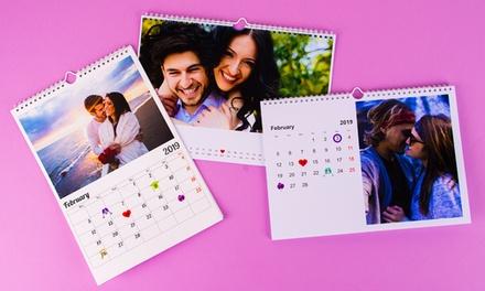 1, 2, 3 ou 5 calendriers photo personnalisés format A3 avec Colorland