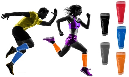 1, 2 ou 4 paires de jambières de compression sport Freenord, coloris au choix