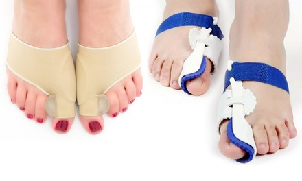One or Two Pairs of Orthopedic Bunion Corrector Toe Socks Separators or Orthopedic Foot Bunion Correctors