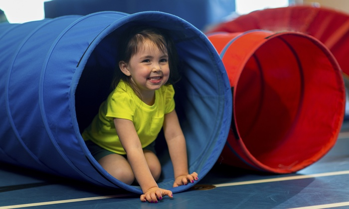 Texas Tumble Tots - Alvarado: Four Weeks of Tumbling Classes at Texas Tumble Tots (56% Off)
