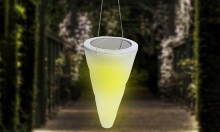 Una o 2 lampade solari con LED cambiacolore a forma di cono da 8,99 € (fino a 75% di sconto)
