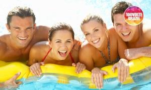 ONDA VIVA: Ingresso giornaliero in piscina e valutazione benessere corporeo per 2 o 4 persone da Onda Viva (sconto fino a 72%)