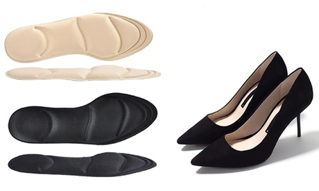 1 o 2 plantillas para zapatos con tacón