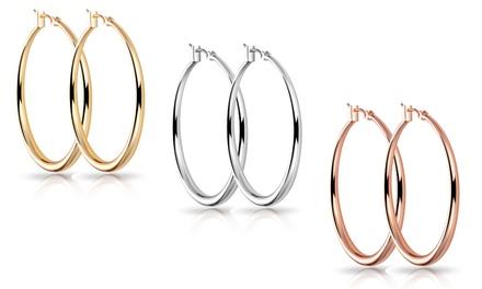 One, Two or Three Pairs of Philip Jones Jewellery Hoop Earrings